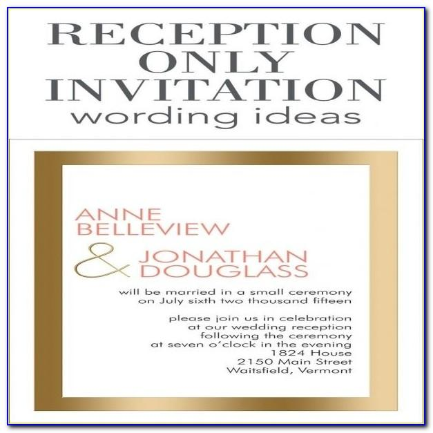 Wedding Rehearsal Dinner Invitation Wording Samples