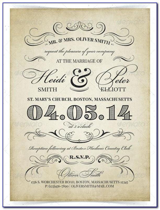 Wedding Return Label Template