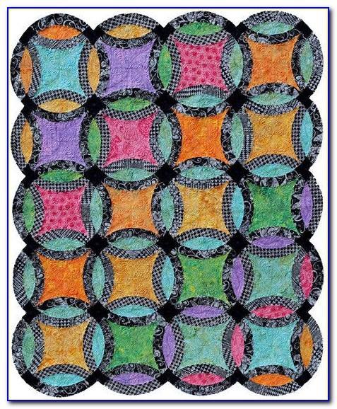 Wedding Ring Quilt Pattern Kit