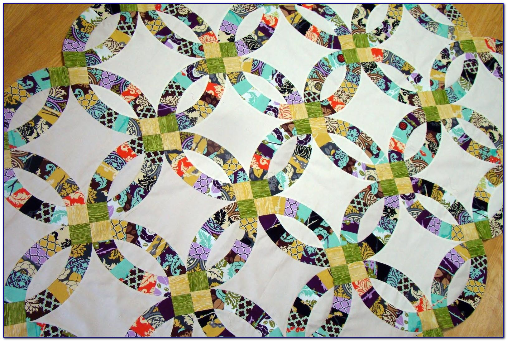 Wedding Ring Quilt Template Uk