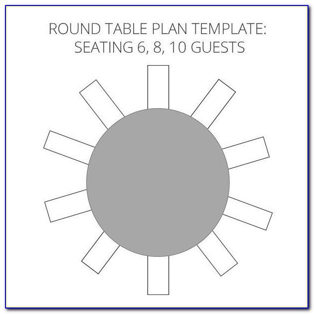 Wedding Seating Chart Template 25 Tables