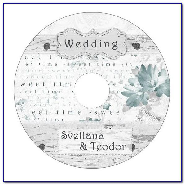 Wedding Templates For Cd Labels
