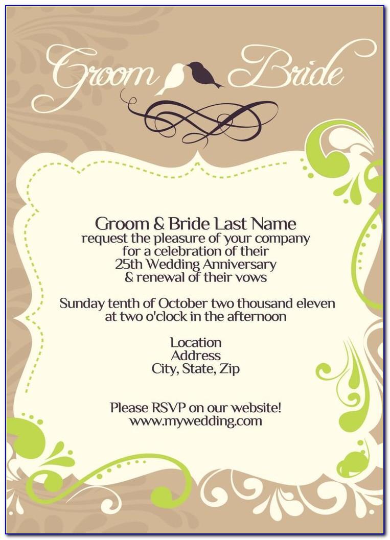 Wedding Wine Bottle Label Template