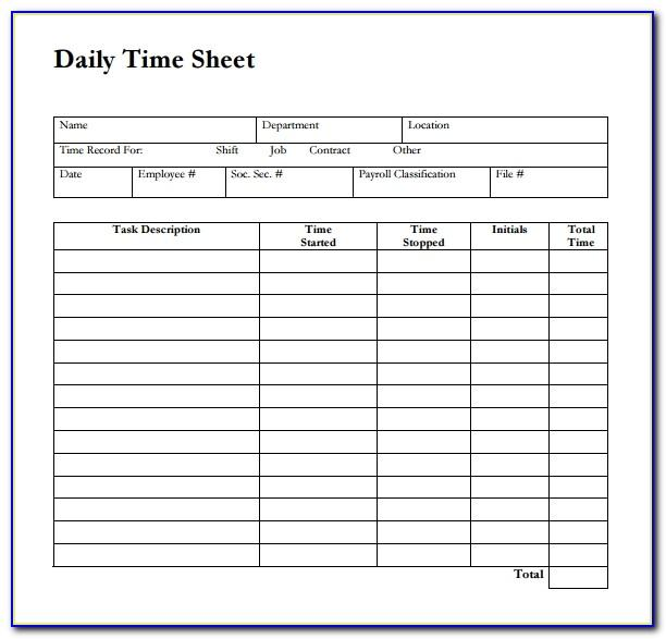Weekly Planner Template Excel Free Download