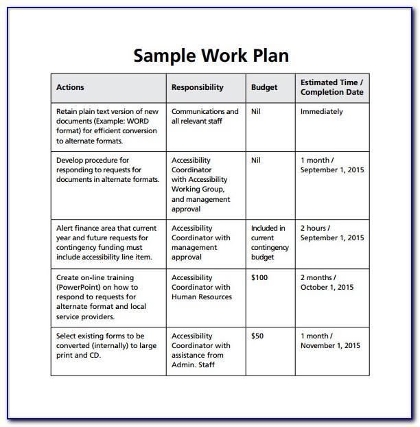Weekly Work Schedule Template Word