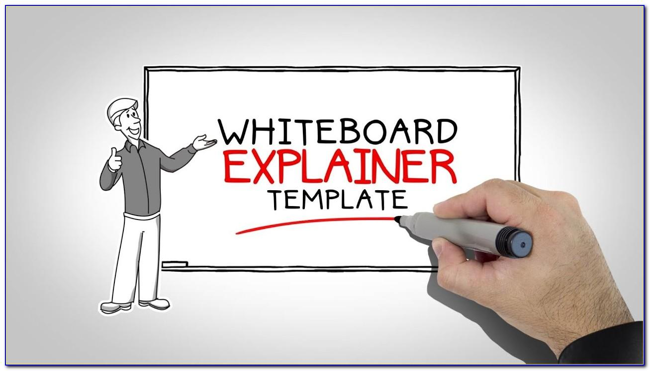 Whiteboard Animation After Effects Template Free