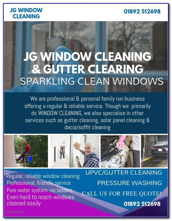 Window Cleaning Business Plan Sample