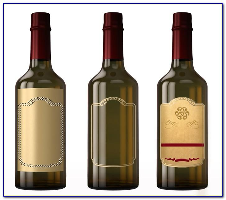 Wine Bottle Tag Template Free