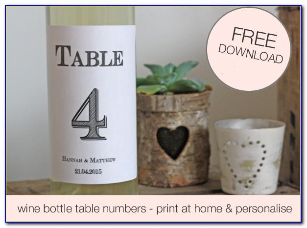 Wine Bottle Tag Template Word