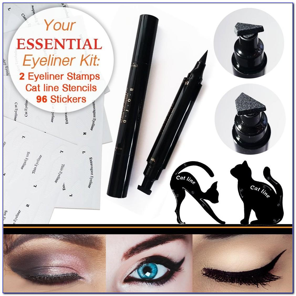 Winged Eyeliner Stencil Ebay