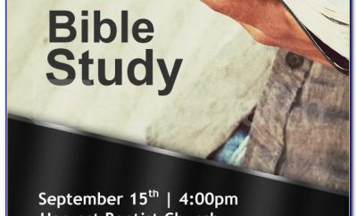 Women's Bible Study Invitation Template