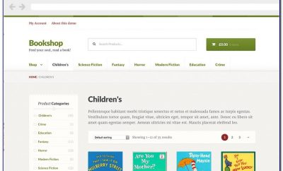 Woocommerce Child Theme Template