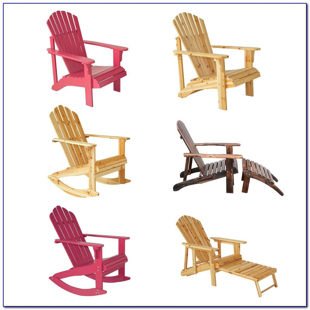 Wood Rocking Chair Plan