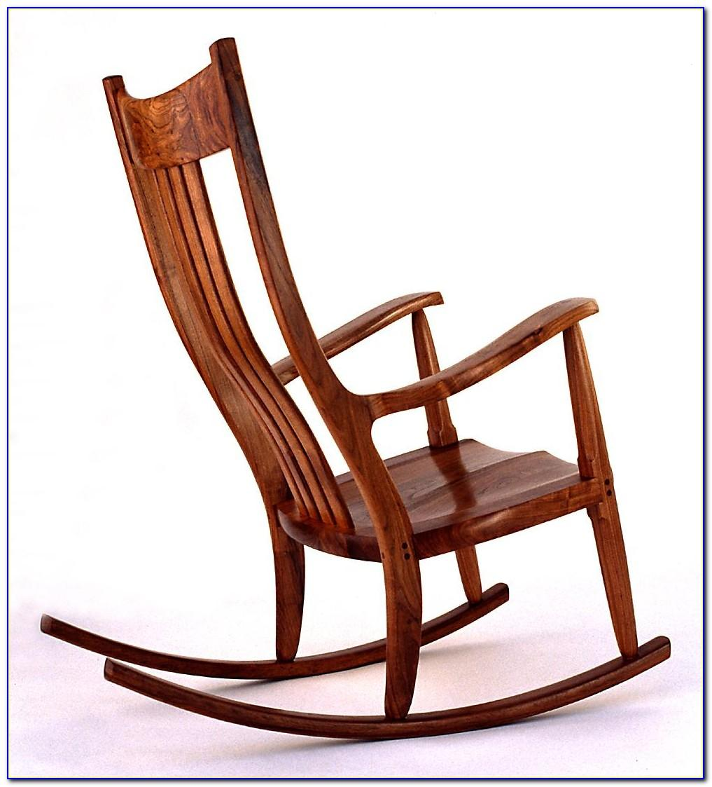 Wooden Puzzle Rocking Chair Pattern