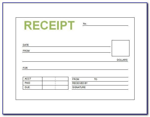 Word Document Invoice Form