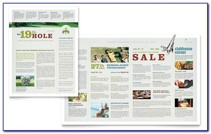 Word Templates Newsletter Design