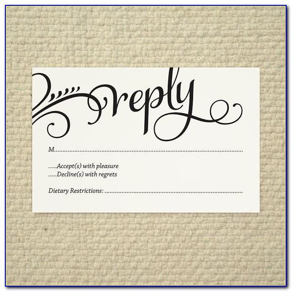 Wordpress Wedding Rsvp Template