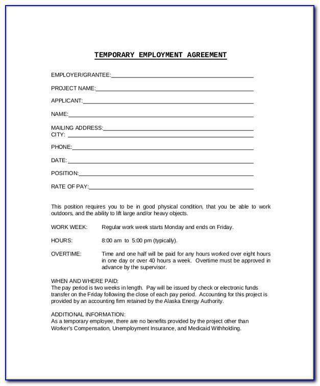 Work Contract Sample Pdf
