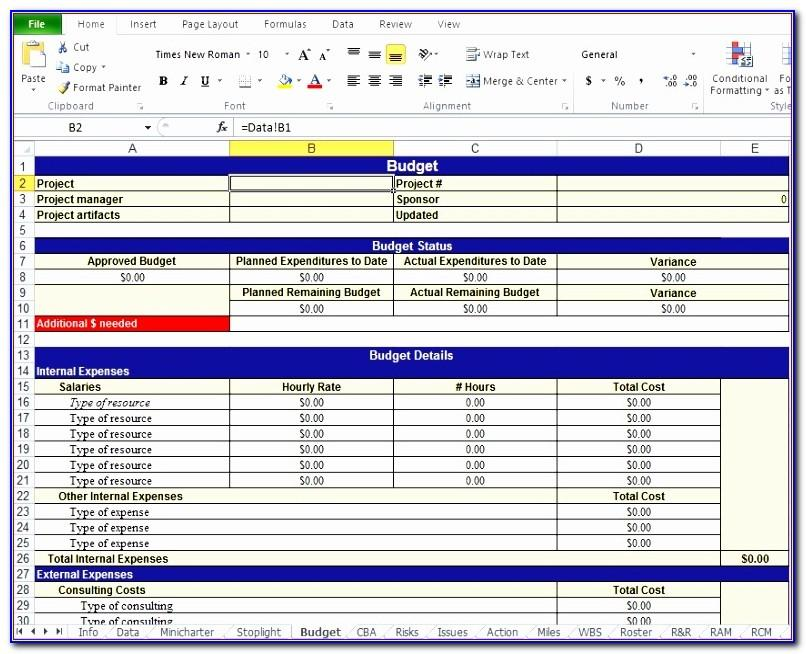 Work Plan Template Excel Xls