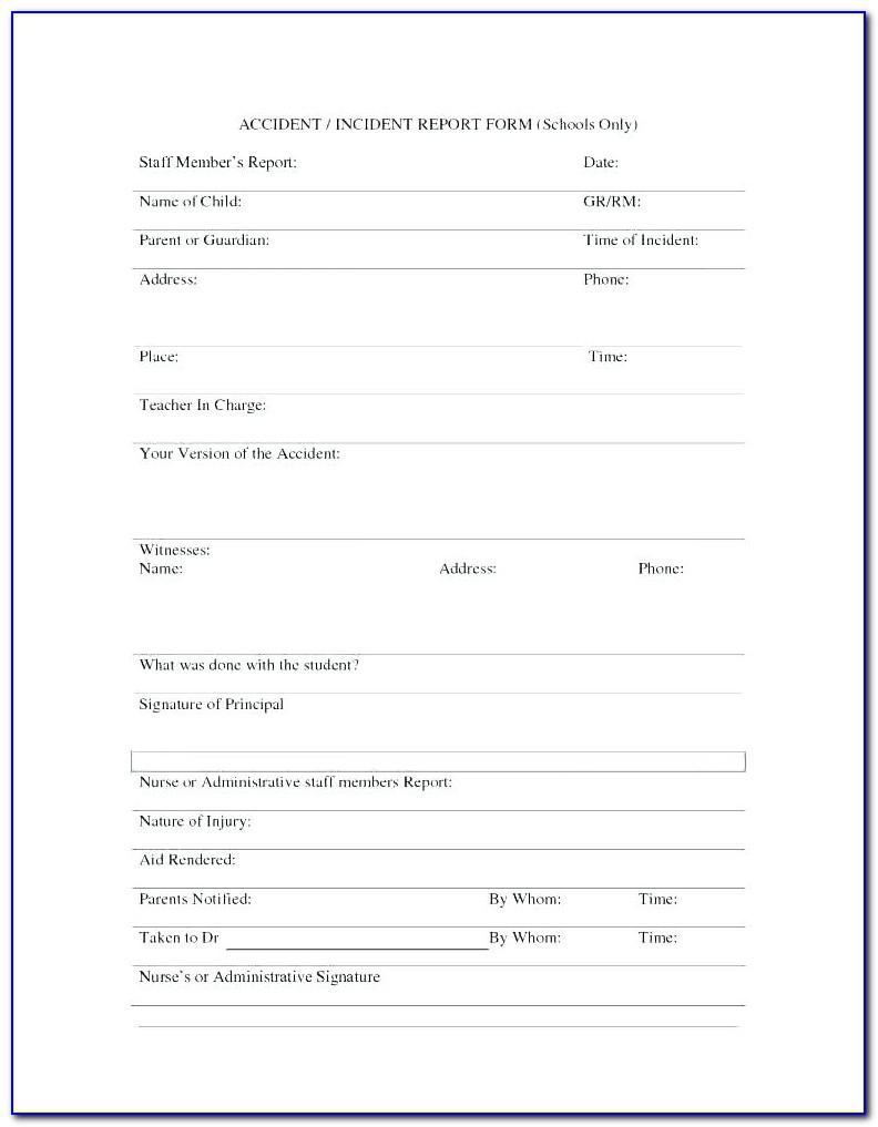 Workplace Safety Inspection Report Template