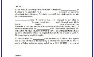 Writing Resignation Letter Sample