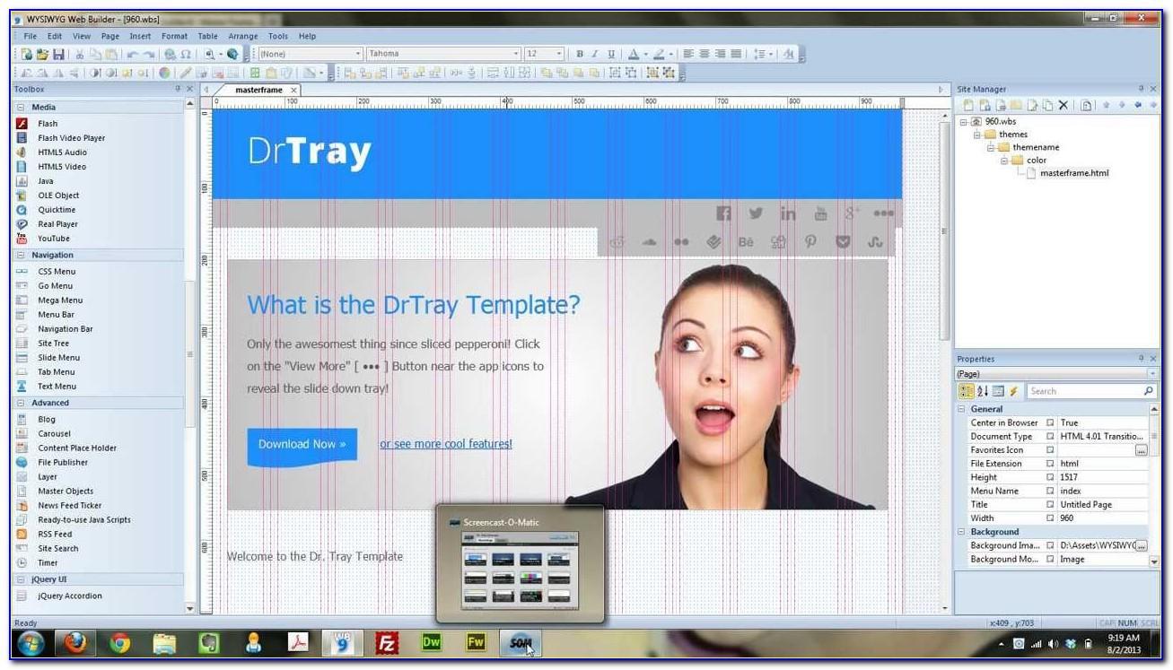Wysiwyg Web Builder 14 Templates Free Download