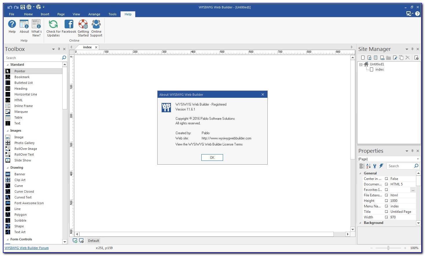 Wysiwyg Web Builder Template Download