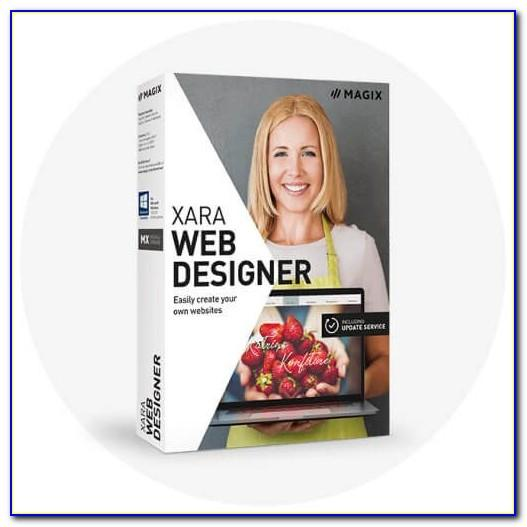 Xara Web Designer Free Templates Download