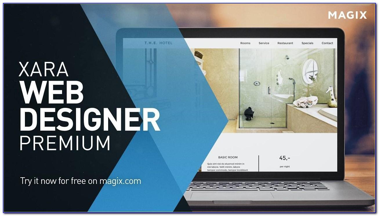 Xara Web Designer Premium Templates Download