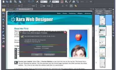 Xara Web Designer Templates Download