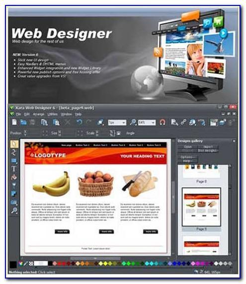 Xara Web Templates Free Download
