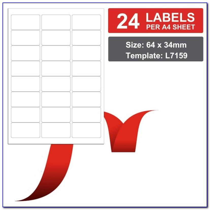 Xerox Labels 24 Per Sheet Template