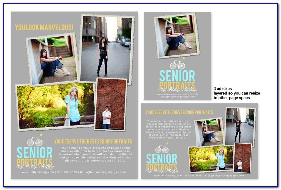 Yearbook Ad Templates For Photographers