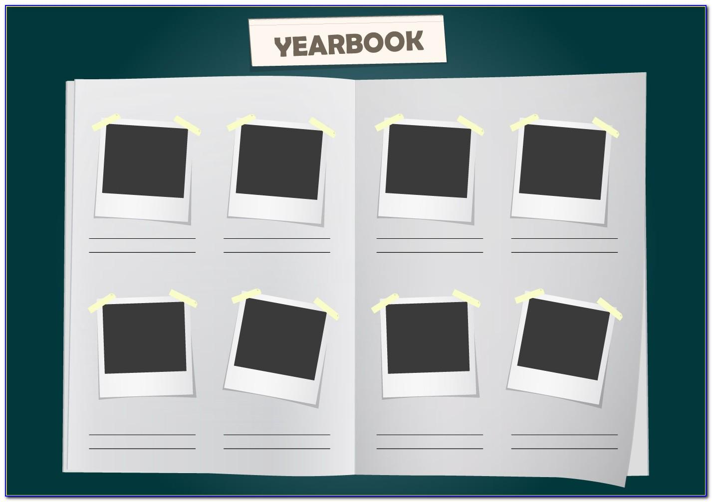 Yearbook Design Template Photoshop