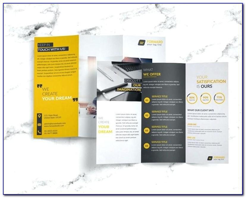 11x17 Tri Fold Brochure Template Illustrator