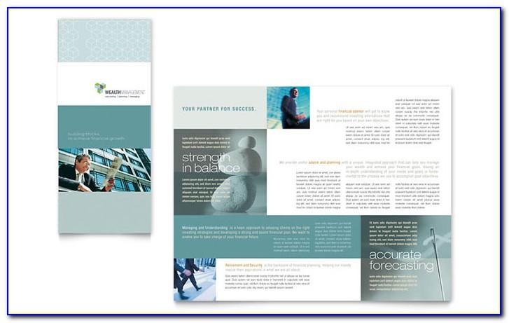 11x17 Tri Fold Brochure Template Publisher