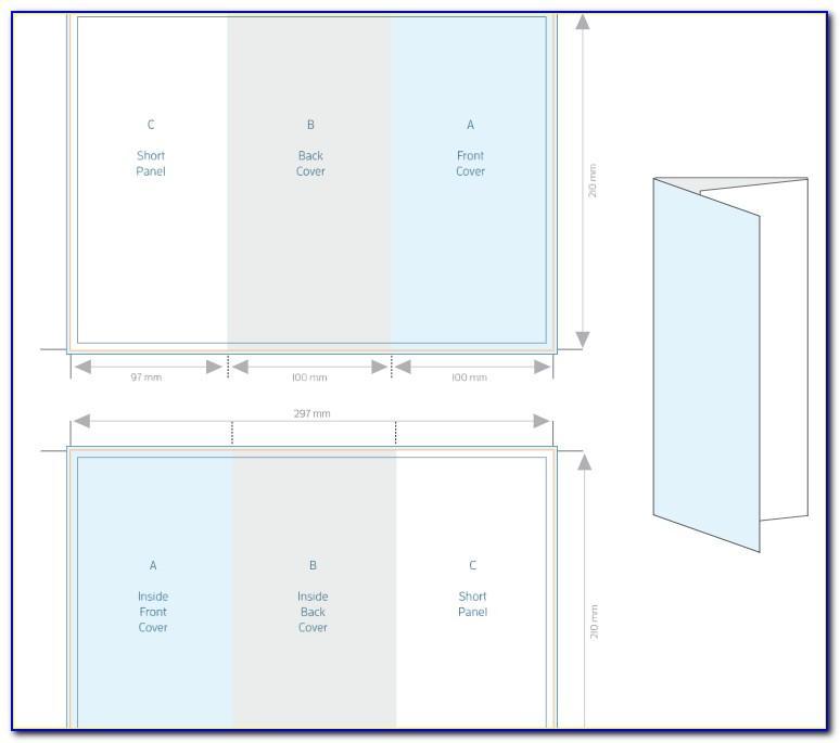 A4 Tri Fold Brochure Template Word