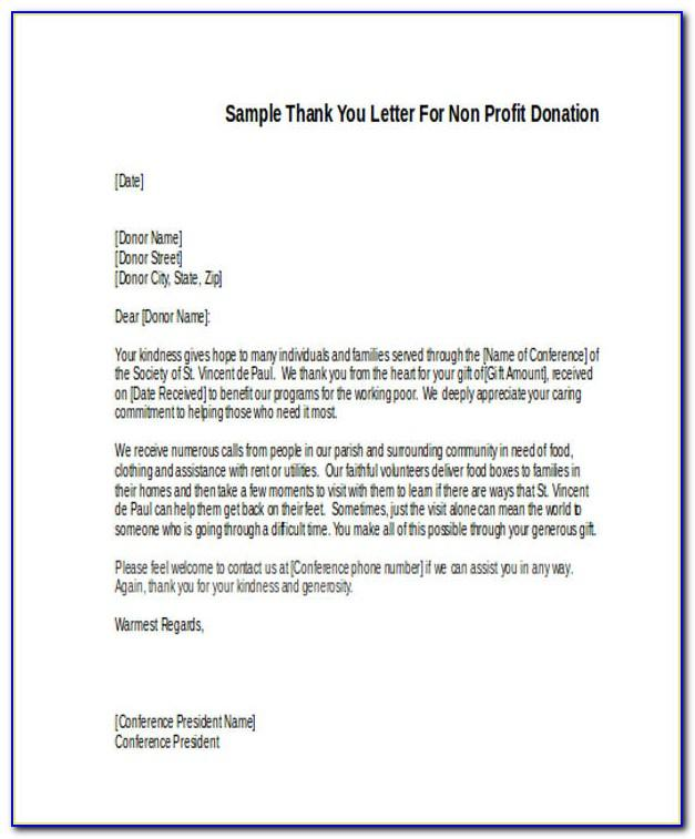 Are Nonprofits Required To Send Thank You Letters For Donations