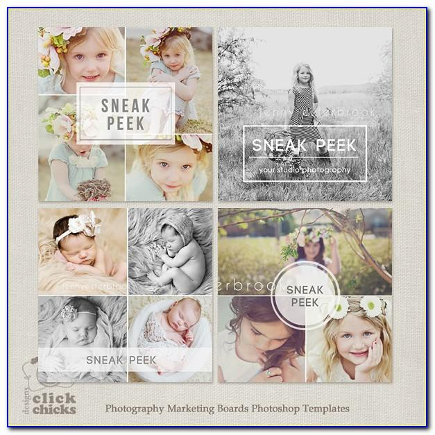 Best Free Photoshop Templates For Photographers