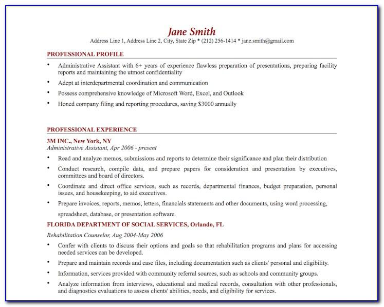 Best Template For Resume Free Download