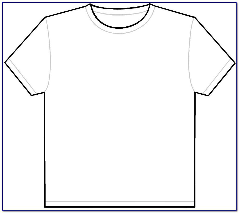 Black T Shirt Mockup Template Free Download