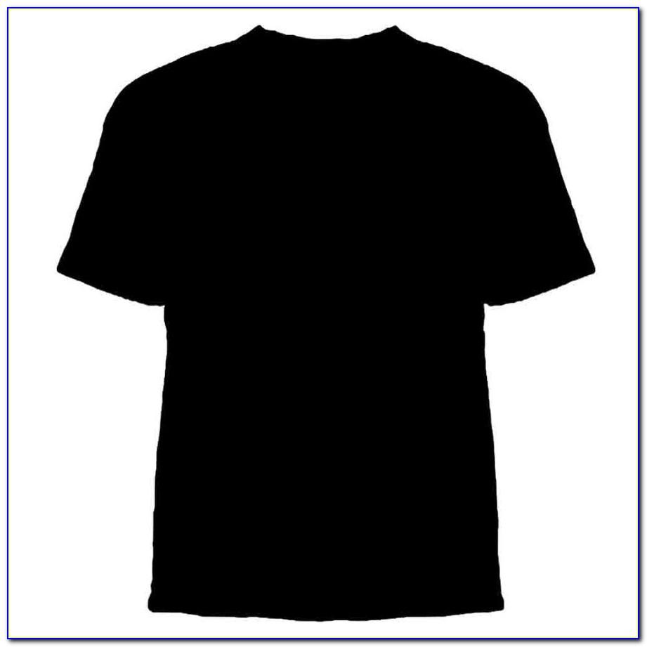 Blank T Shirt Template For Photoshop Free Download