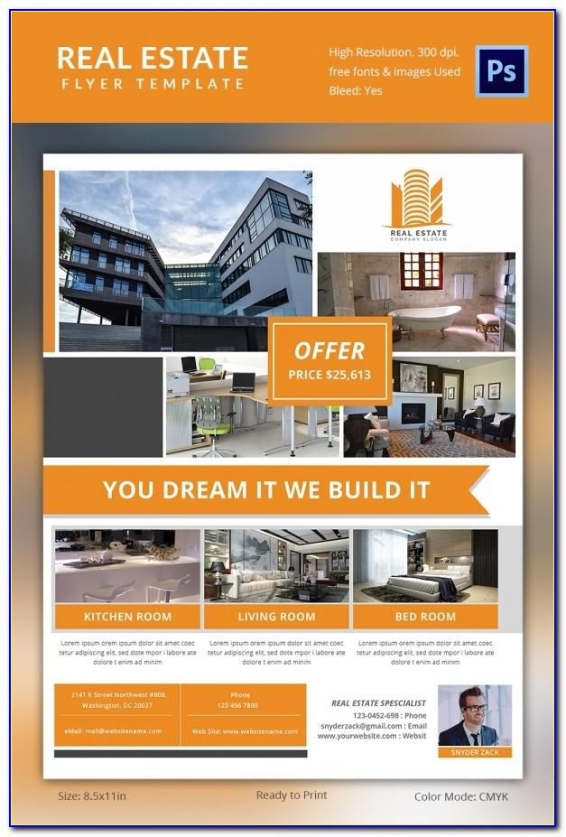 Commercial Real Estate Brochure Template Free Download