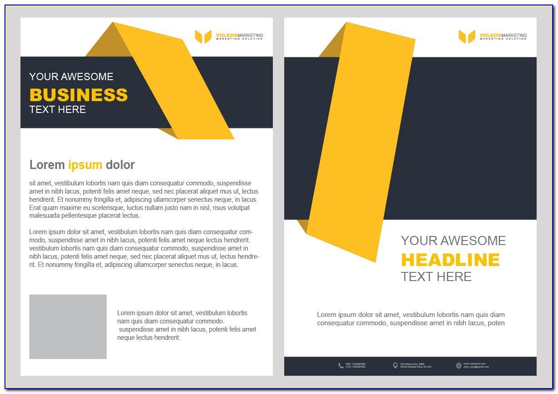 Creative Brochure Templates Free Download