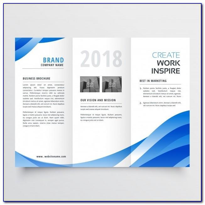 Creative Brochure Templates Vector Free Download