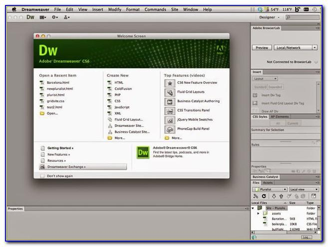 Download Free Templates For Dreamweaver Cs6