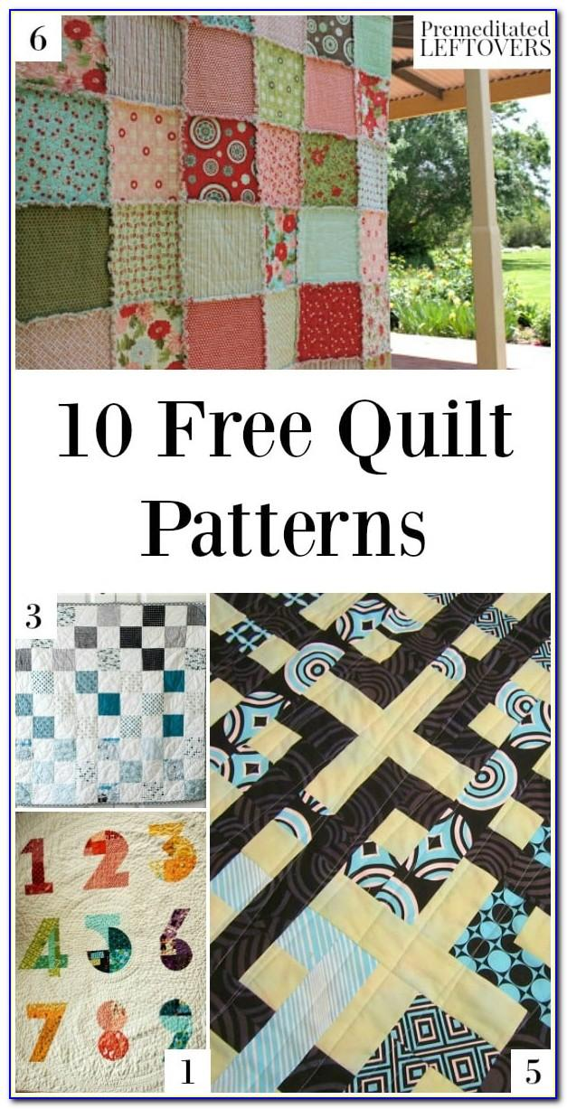Easy T Shirt Quilt For Beginners