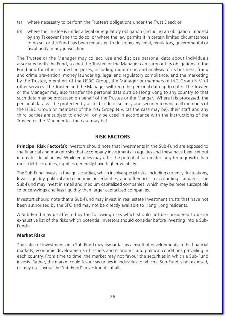 Family Trust Deed Template South Africa Pdf