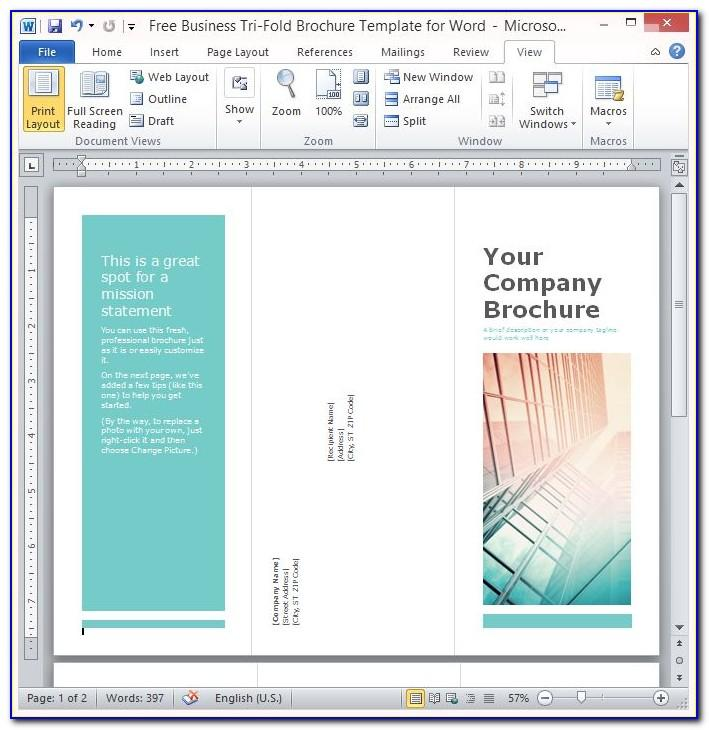 Flyer Template Microsoft Word Free