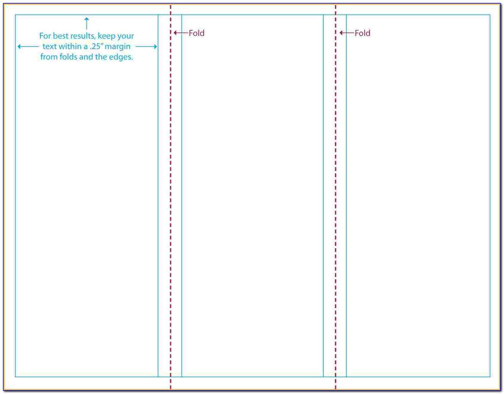 Free Brochure Templates For Microsoft Word Tri Fold